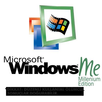 Korkunç yavaş işletim sistemi: windows ME