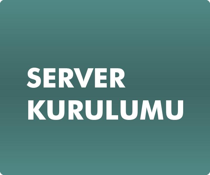 NETWORK VE SERVER KURULUMU